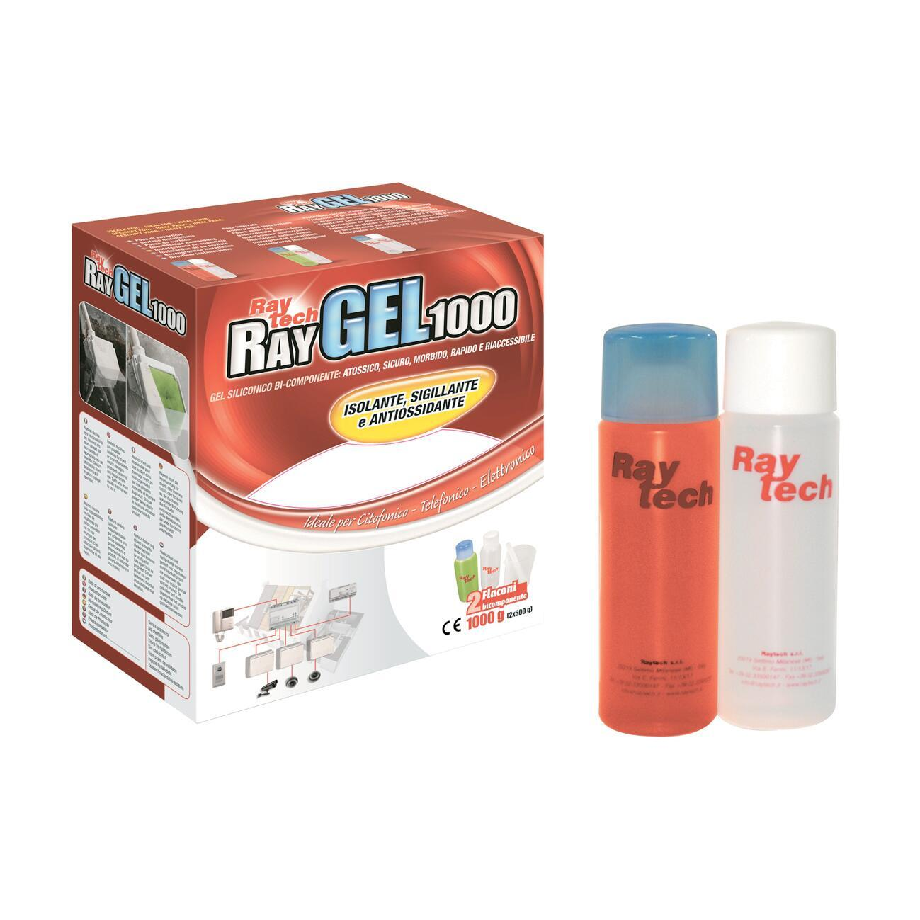 Gel bicomponente a tenuta stagna RAYTECH Ray 100 ml - 1