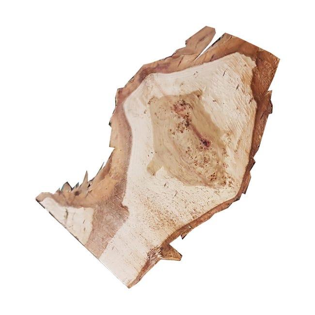 Sagoma decorativa triangolo in abete grezzo - 1