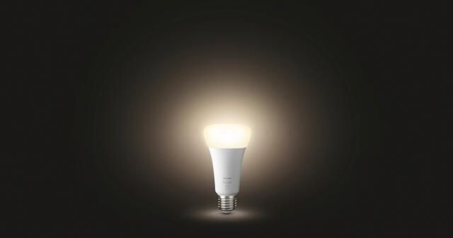 Lampadina smart lighting LED, HUE WHITE BLUETOOTH, E27, Goccia, Opaco, Luce calda, 15.5W=1600LM (equiv 100 W), 150° , PHILIPS HUE - 5