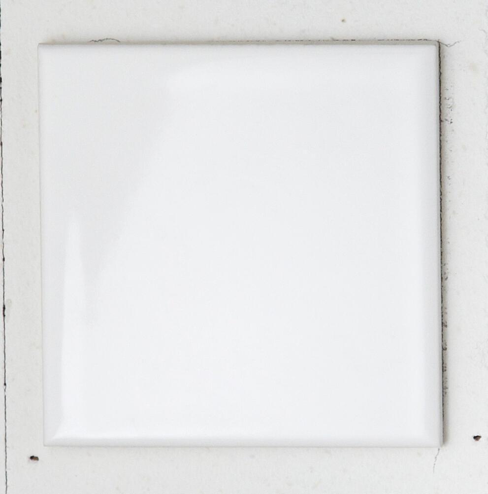 Piastrella per rivestimenti Brillant 10 x 10 cm sp. 6.5 mm bianco - 10