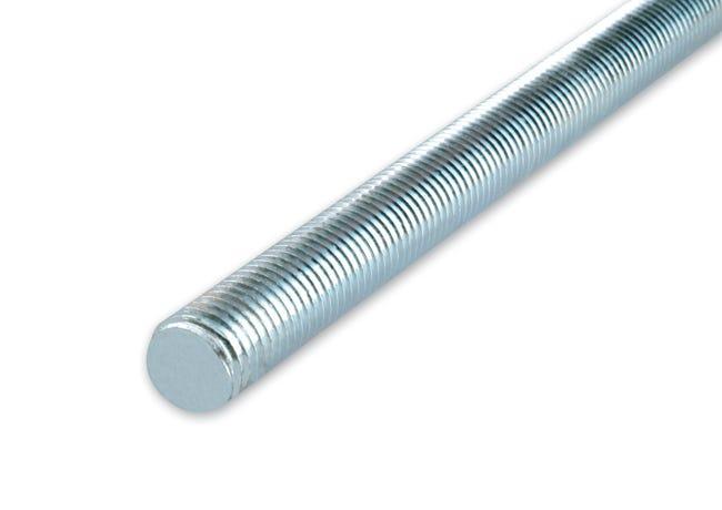 Barra filettata in acciaio Ø 10 L 1000 mm - 1