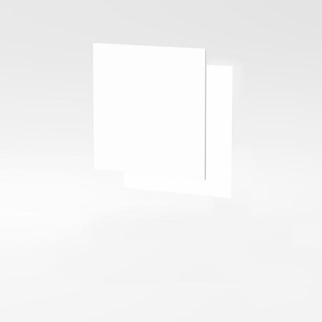 Anta One bianco L 60H 60 x P 1.8 cm - 1