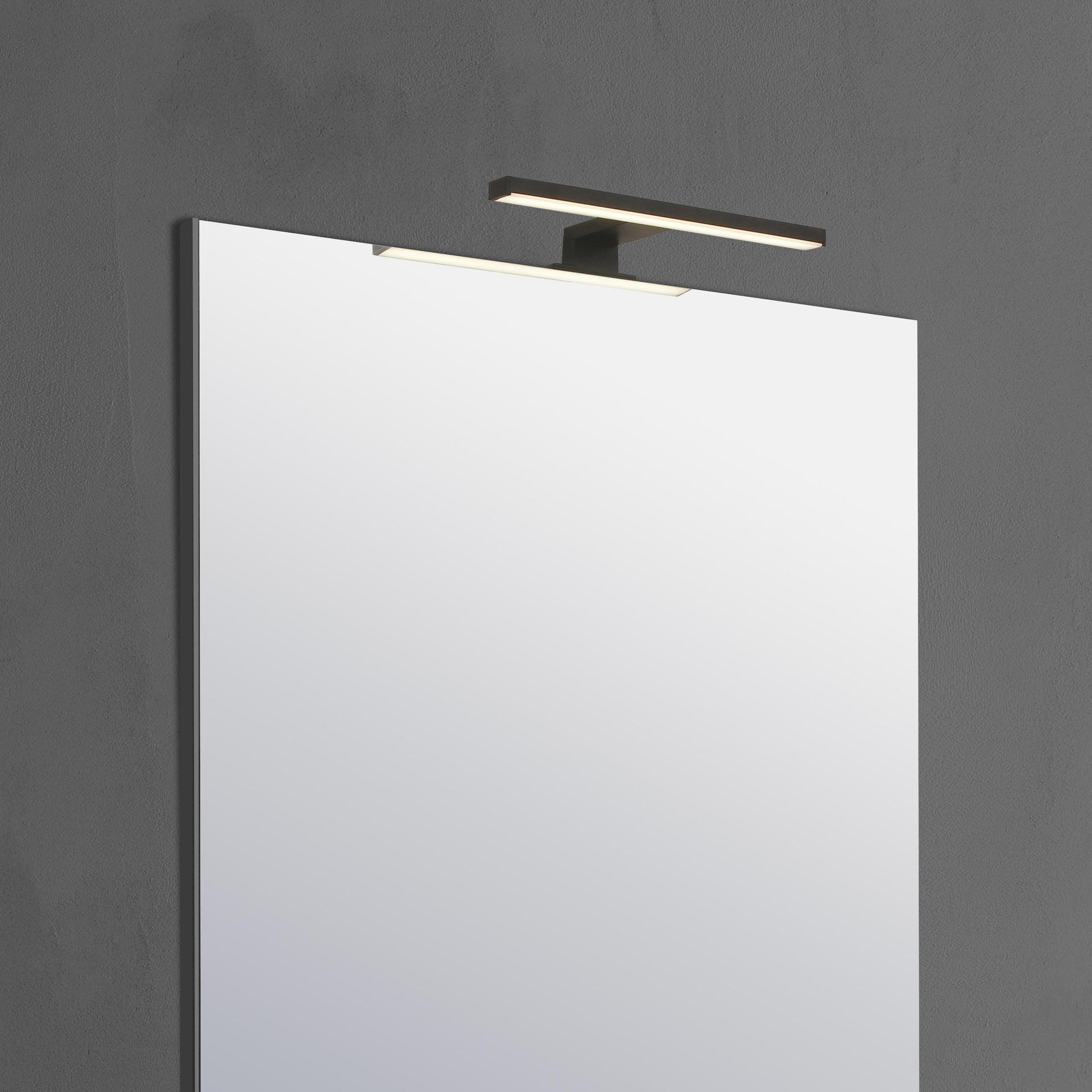 Applique moderno Slim con kit multi attacco , in alluminio, 50.0x50.0 cm, INSPIRE - 9