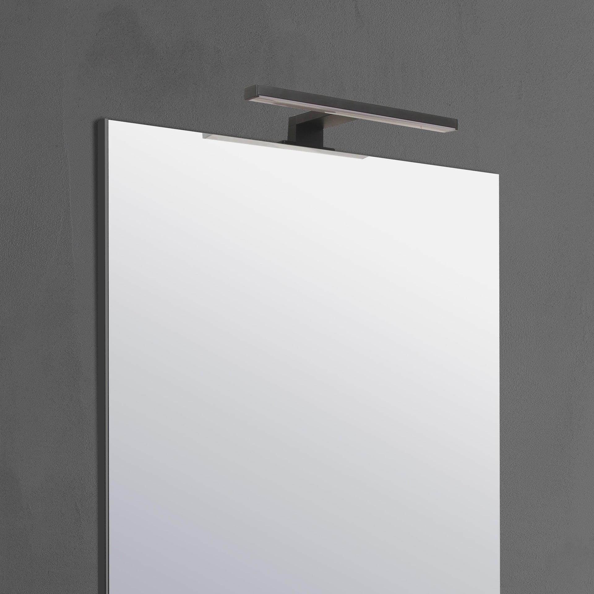 Applique moderno Slim con kit multi attacco , in alluminio, 50.0x50.0 cm, INSPIRE - 4