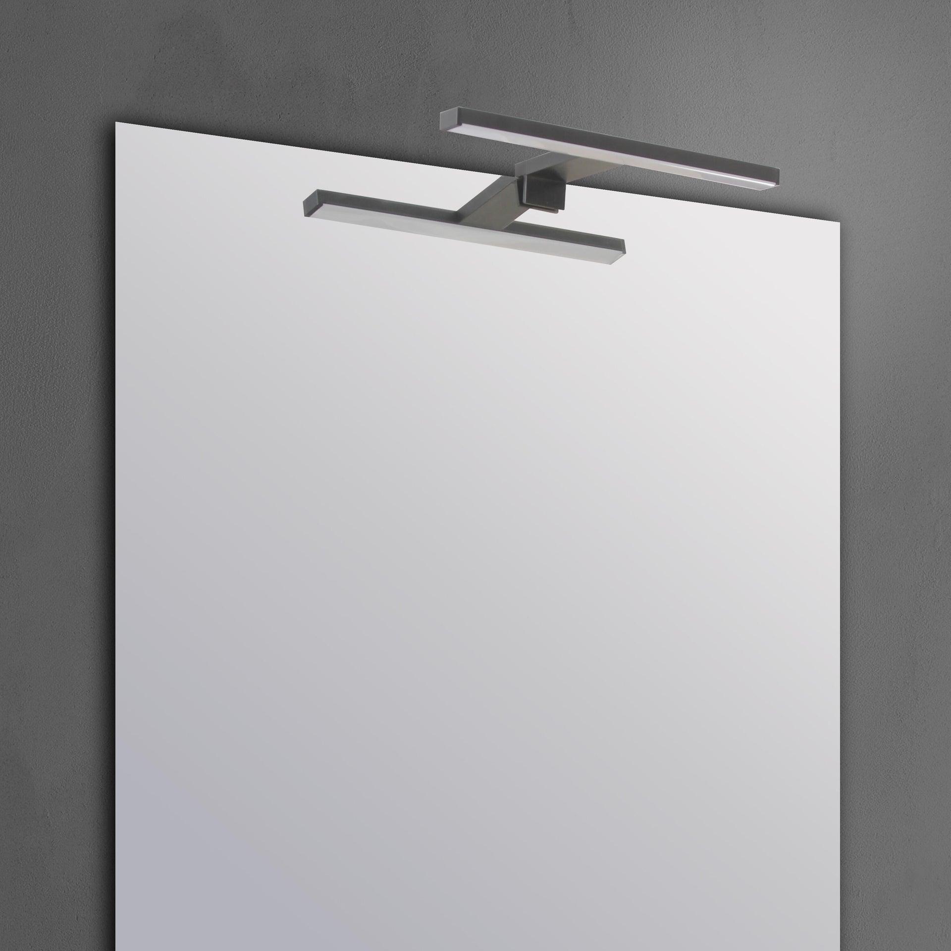 Applique moderno Slim con kit multi attacco , in alluminio, 50.0x50.0 cm, INSPIRE - 5