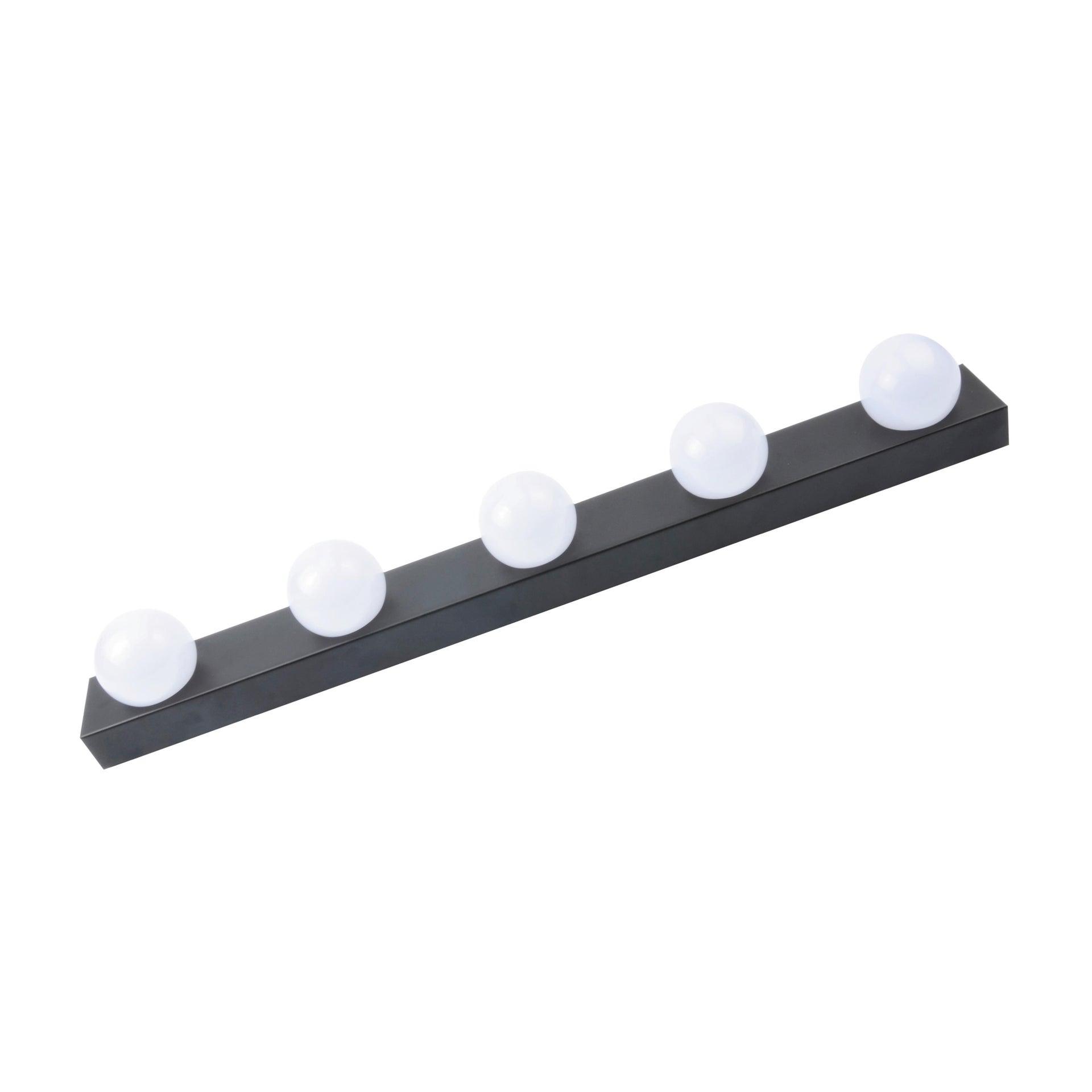 Applique moderno Smila LED integrato nero, in metallo, 60x60 cm, 5 luci INSPIRE - 9