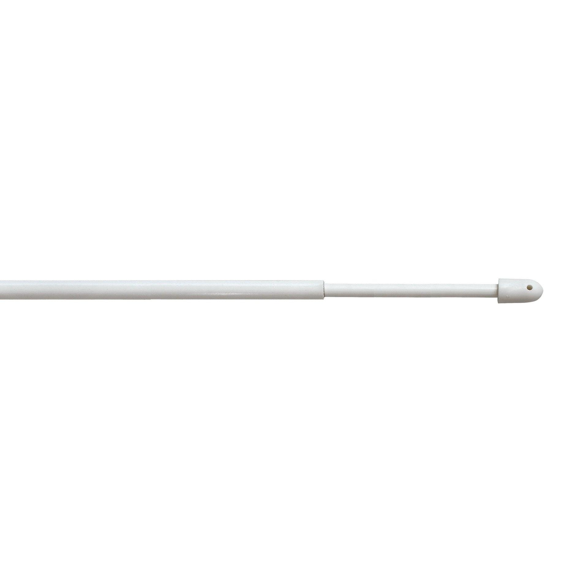 Bacchetta per tenda bianco Ø 8 mm 60-80 cm