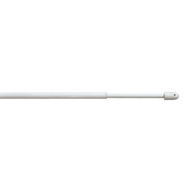 Bacchetta per tenda bianco Ø 8 mm 60-80 cm - 1