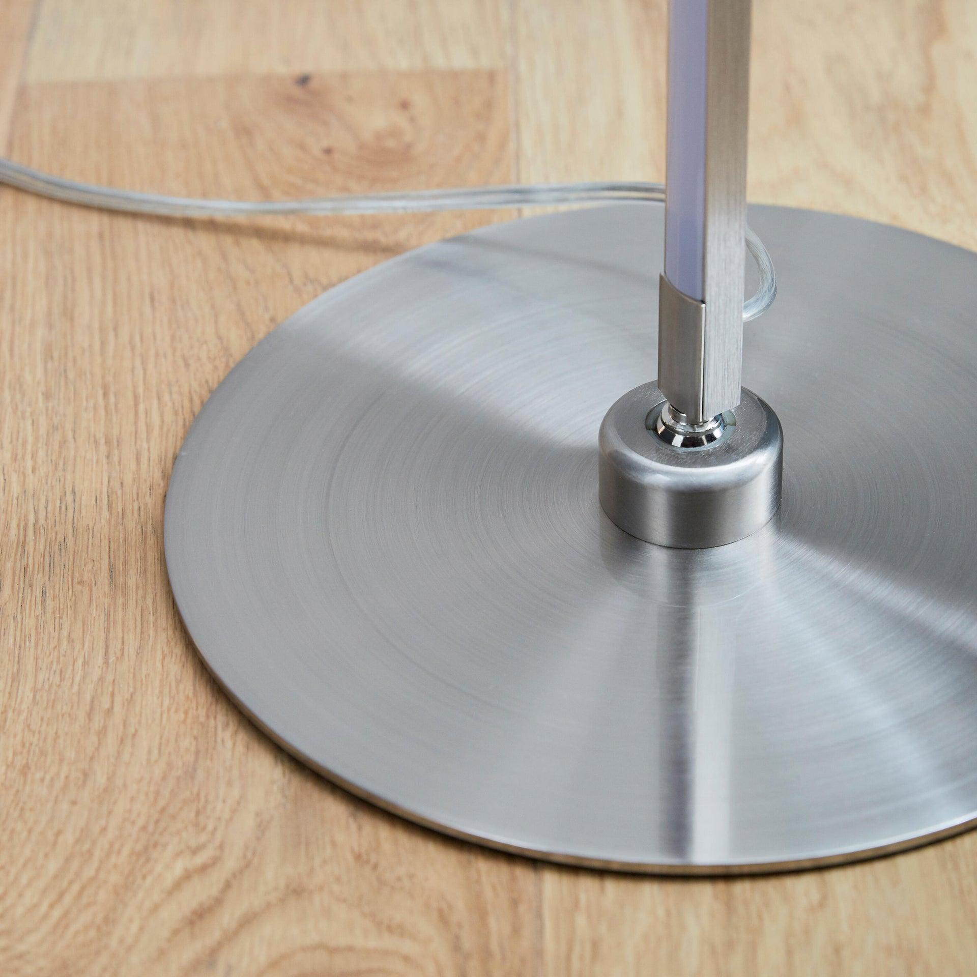 Lampada da terra Truxton cromato, in metallo, H146cm LED integrato INSPIRE - 5