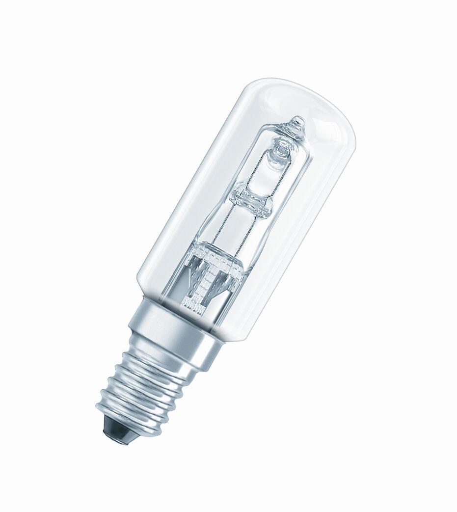 Lampadina Alogena, E14, Tubo, Trasparente, Luce calda, 40W=490LM (equiv 40 W), 360° , OSRAM - 4