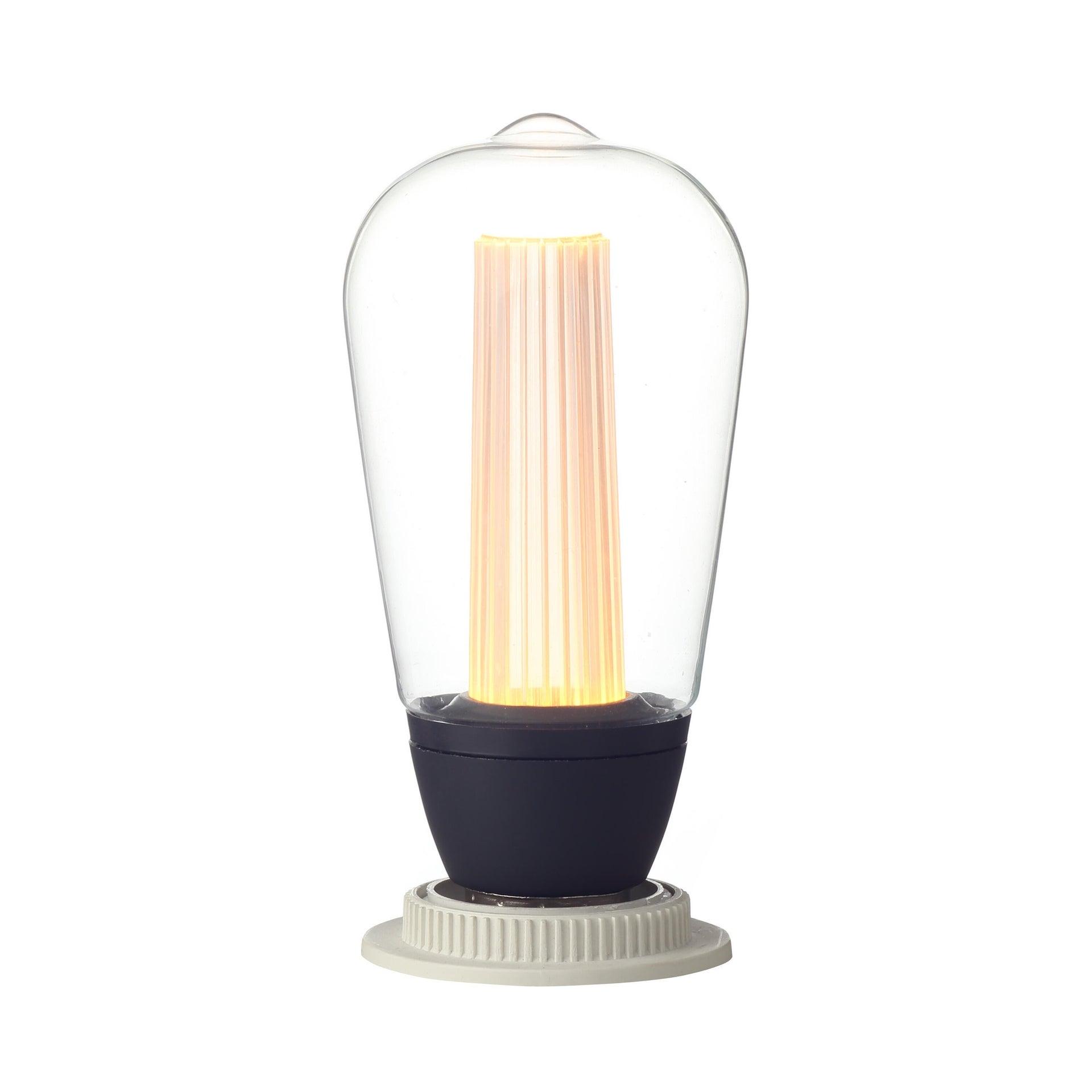 Lampadina LED, E27, Goccia, Trasparente, CCT, 6W=470LM (equiv 40 W), 150° , LEXMAN - 5