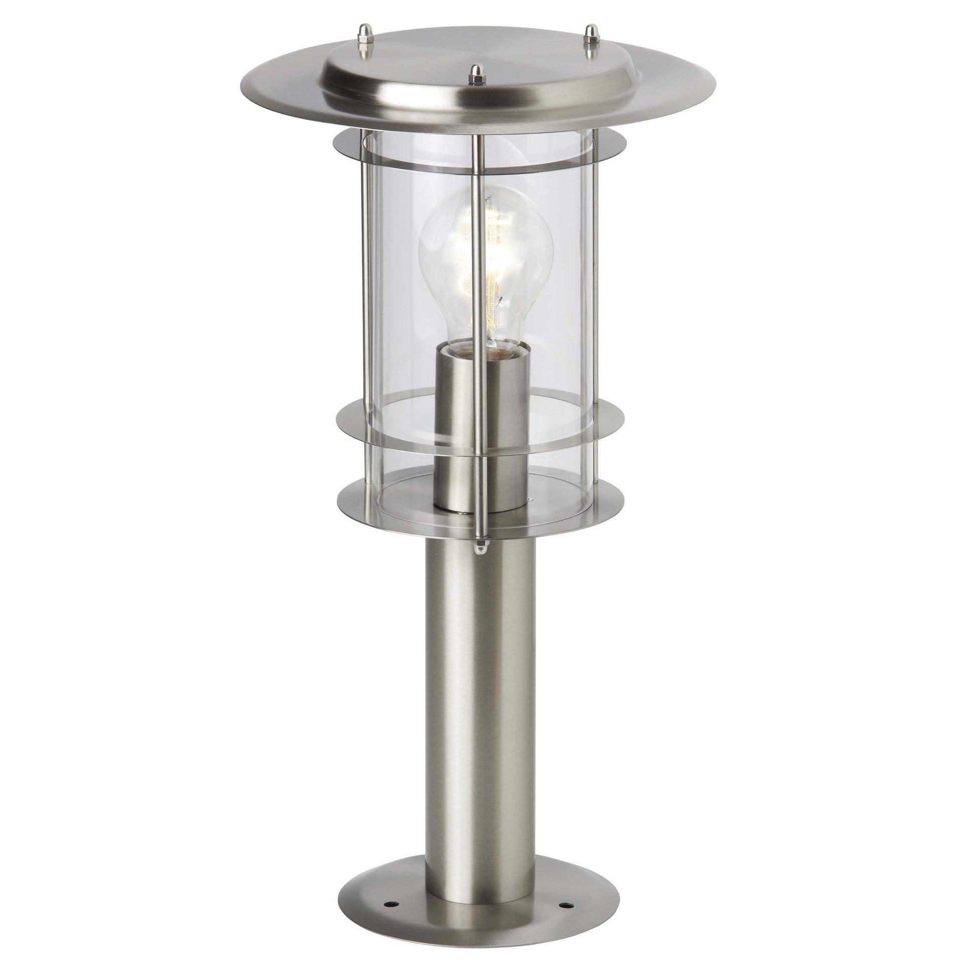Lampioncino York H40 cm in alluminio, acciaio, E27 1x MAX 40W IP44 BRILLIANT - 2