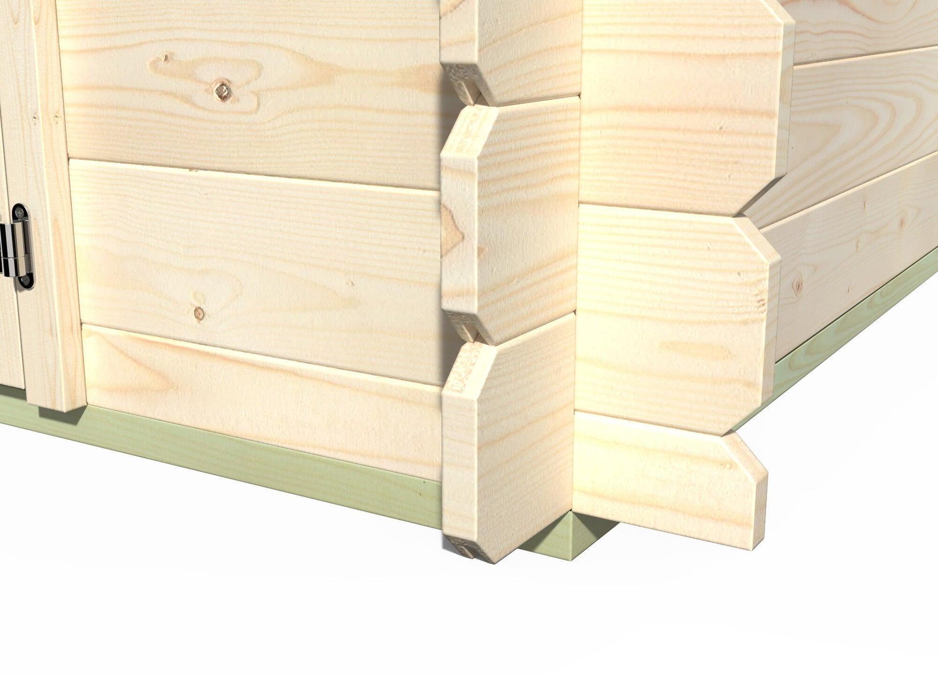 Pavimento per casetta da giardino Primula DECOR ET JARDIN 242.8 x 270 x 45 cm - 5