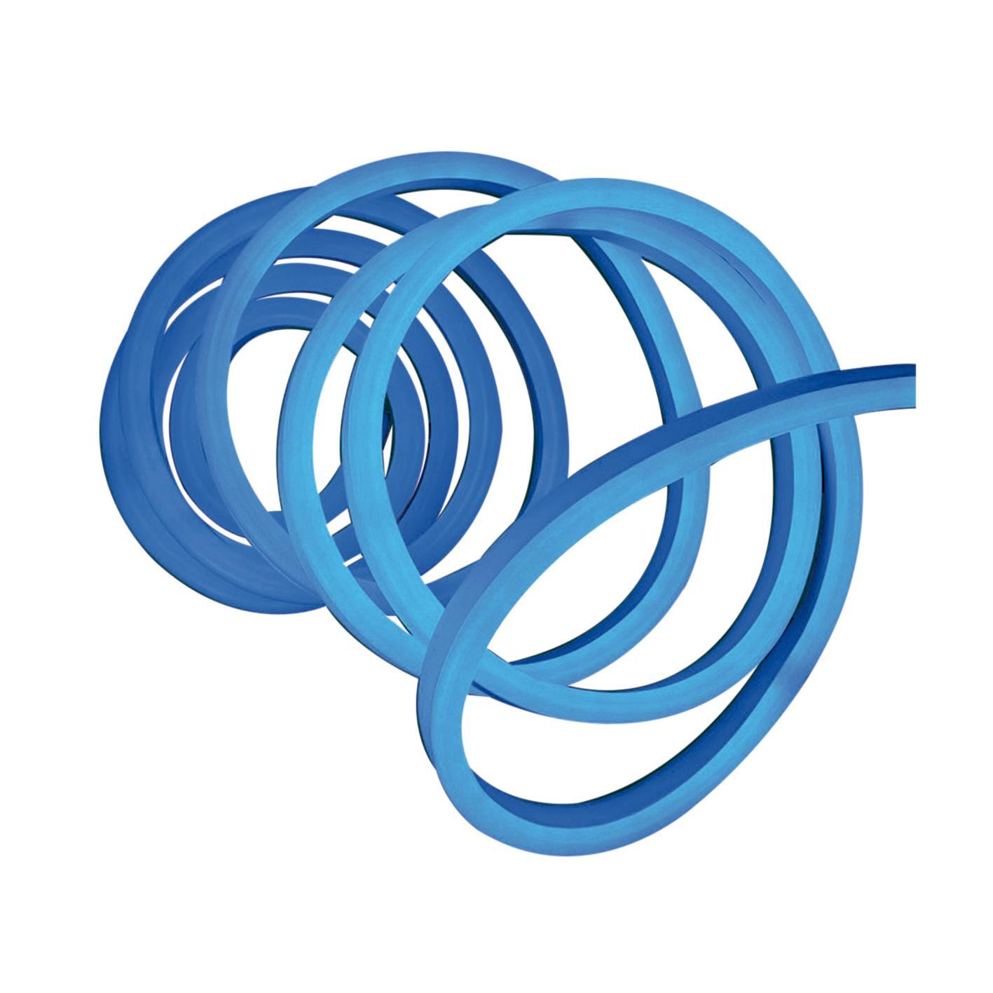 Striscia led Neon Flex Blu 5m luce bianco naturale 3LM IP67 - 2
