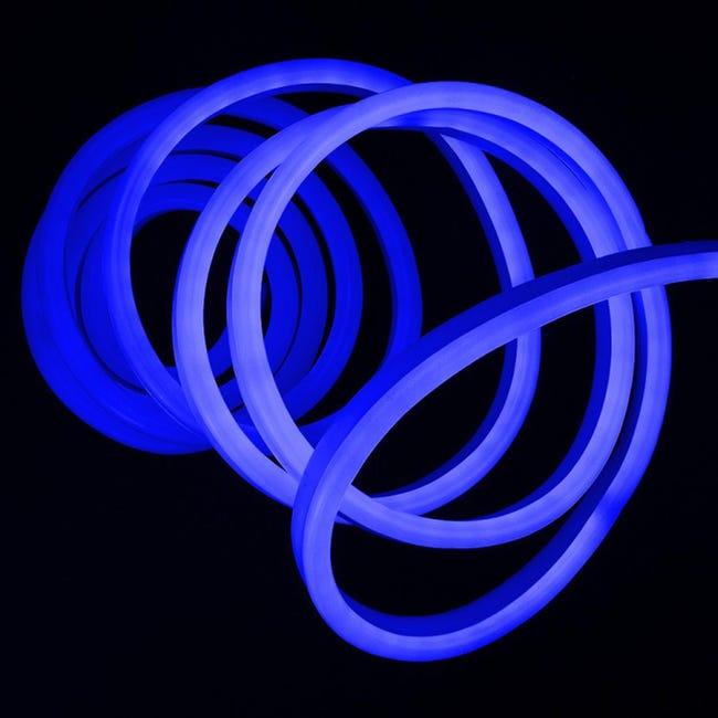 Striscia led Neon Flex Blu 5m luce bianco naturale 3LM IP67 - 1