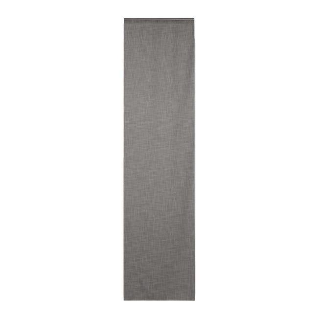 Tendina vetro Infini grigio tunnel 60 x 240 cm - 1