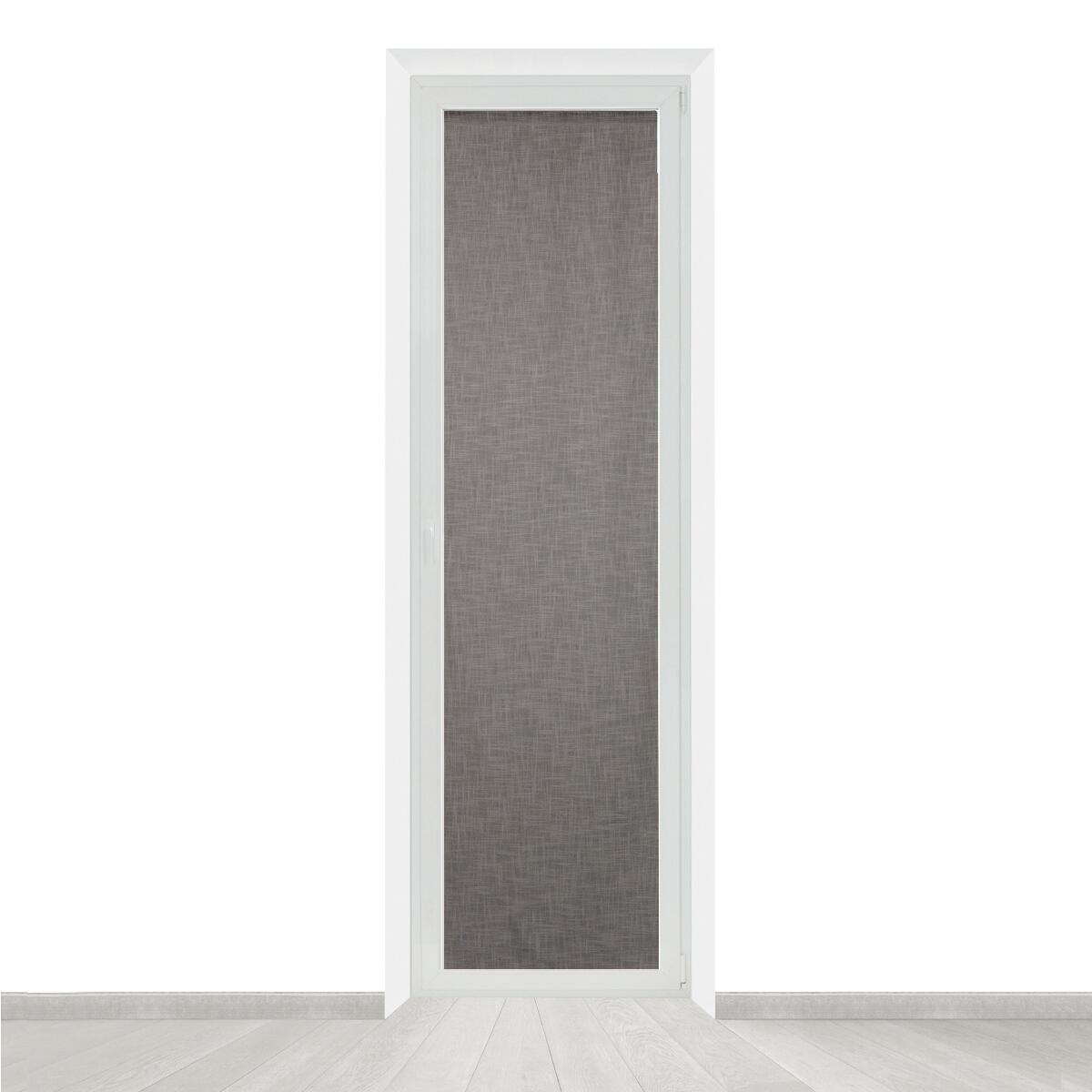 Tendina vetro Infini grigio tunnel 60 x 240 cm - 2