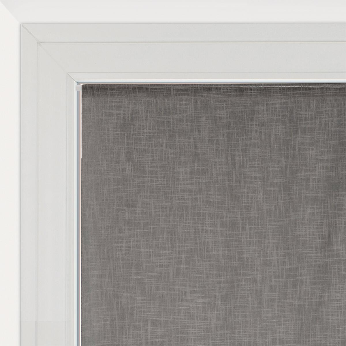 Tendina vetro Infini grigio tunnel 60 x 120 cm - 1