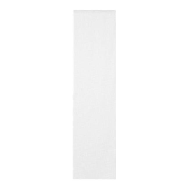 Tendina vetro Infini bianco tunnel 60 x 240 cm - 1