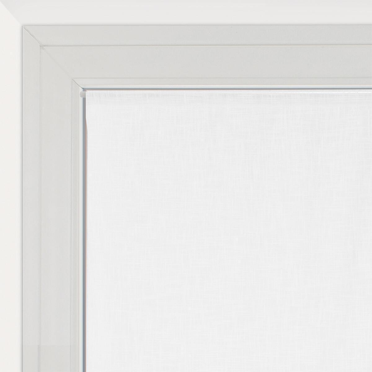 Tendina vetro Infini bianco tunnel 60 x 120 cm - 1