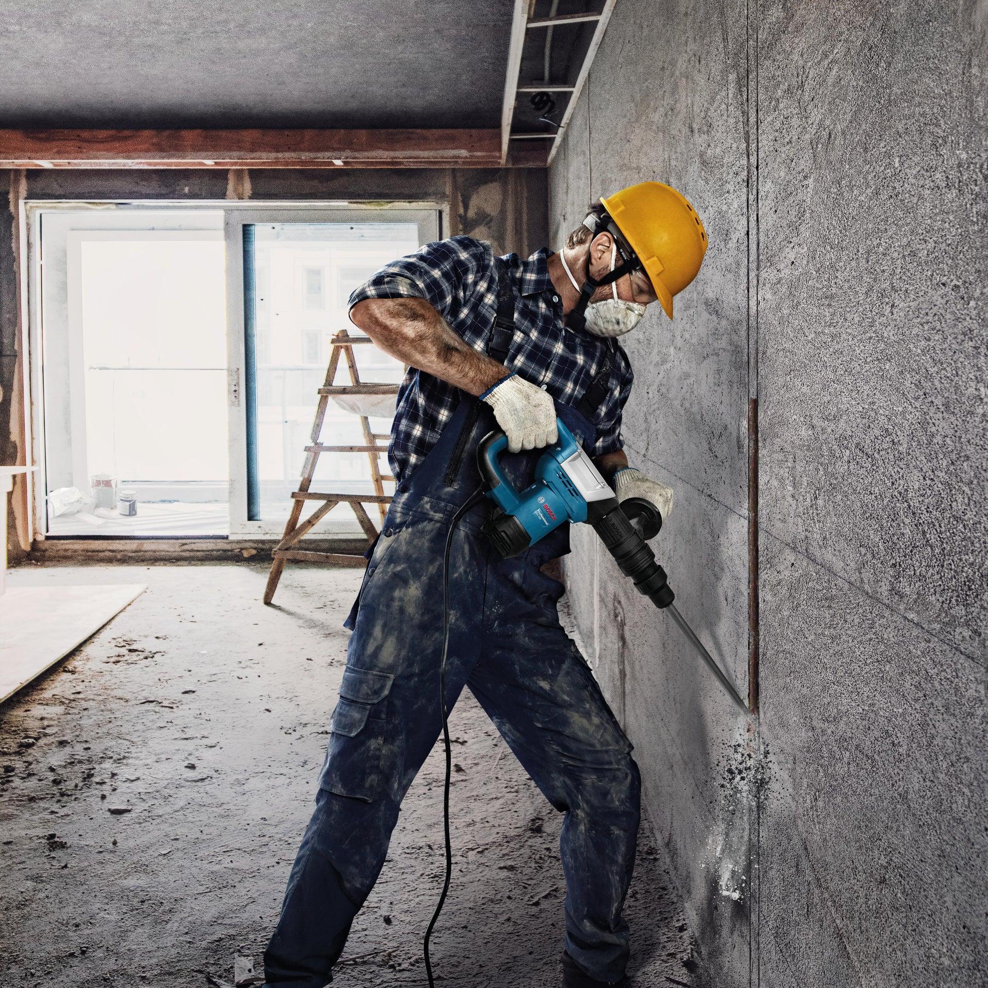 Martello demolitore BOSCH PROFESSIONAL GSH5 SDS Max 1100 W - 11