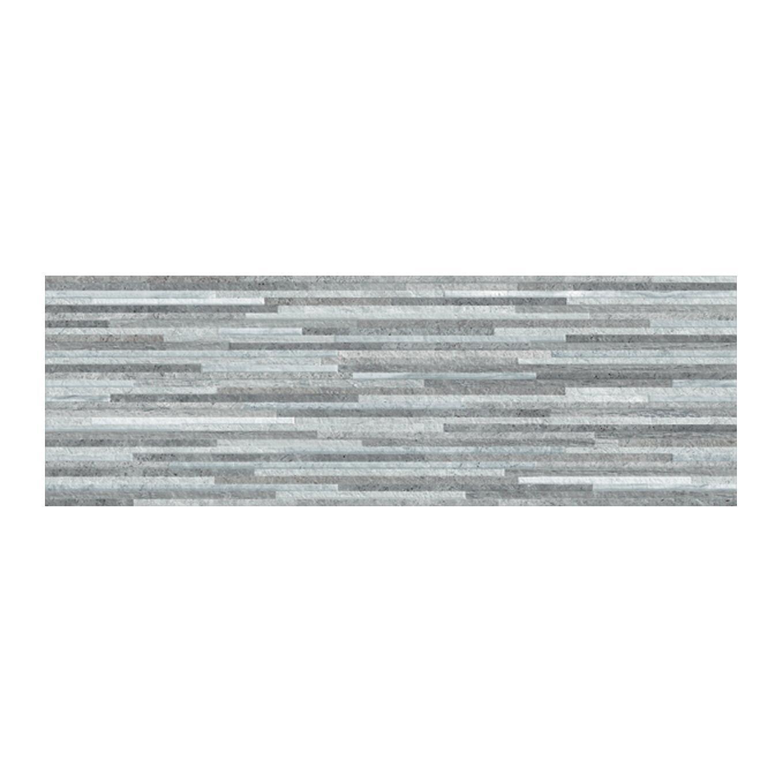 Piastrella per rivestimenti Kintay 20 x 60 cm sp. 9.3 mm grigio - 2