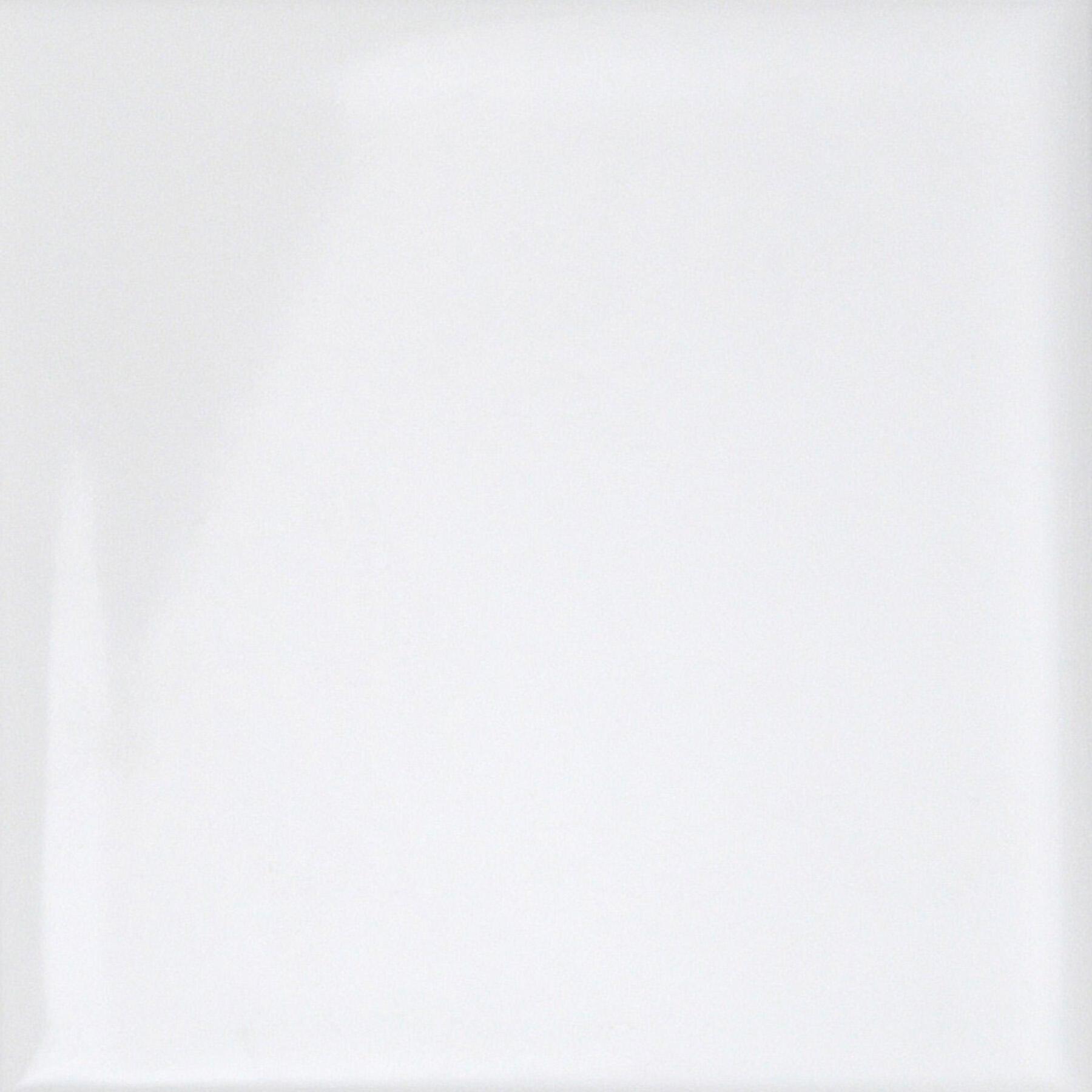 Piastrella per rivestimenti Brillant 15 x 15 cm sp. 6.5 mm bianco - 10