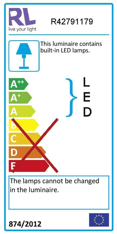 Lampada da terra PIANTANA SOLO METALLO ORO CURVA bianco, in metallo, H158cm LED integrato - 2