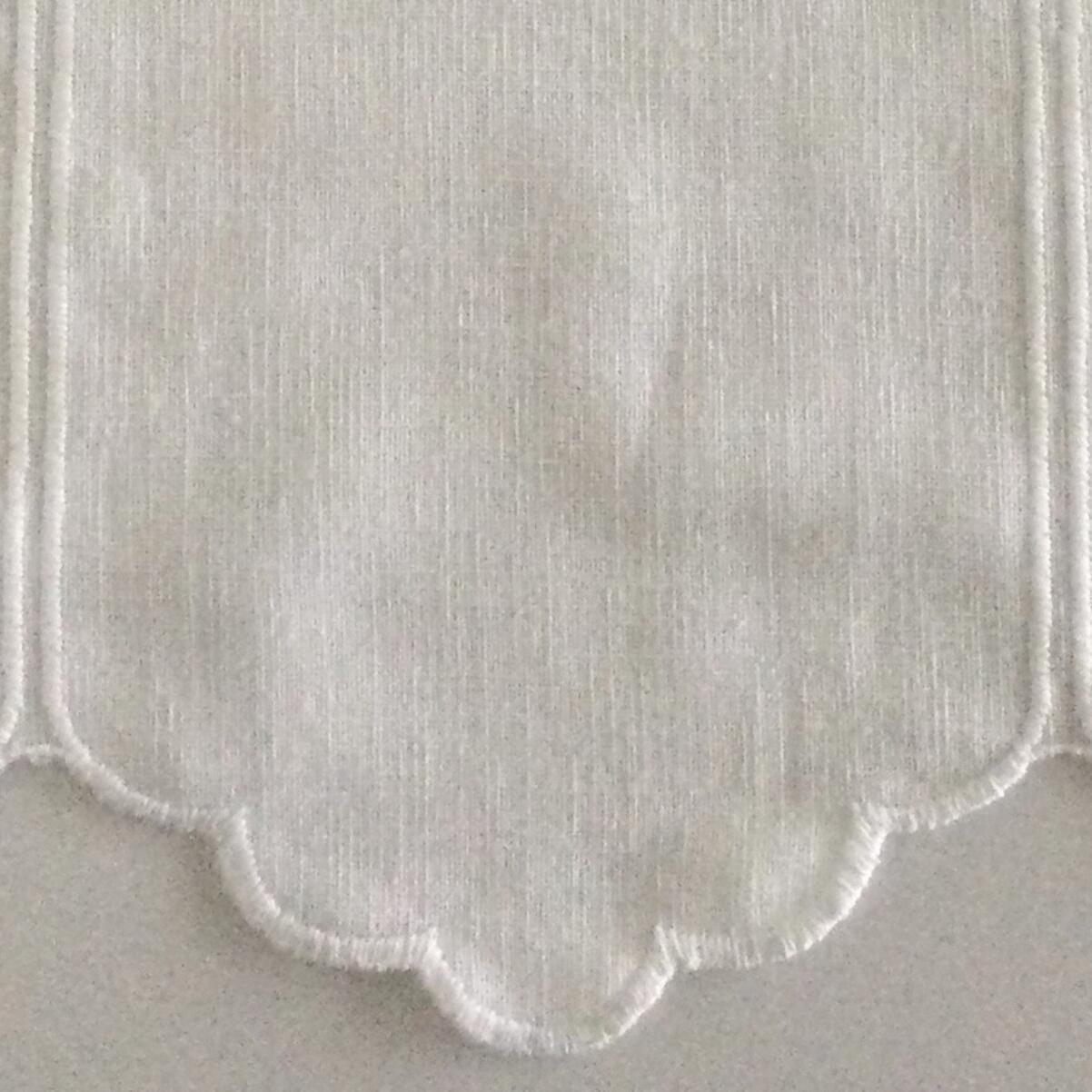 Tessuto al taglio Tirolese bianco 0.01 cm - 3