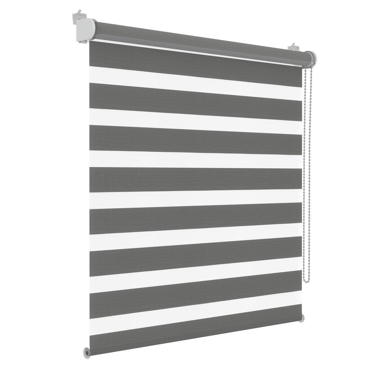 Tenda a rullo Orleans grigio 70 x 190 cm - 5