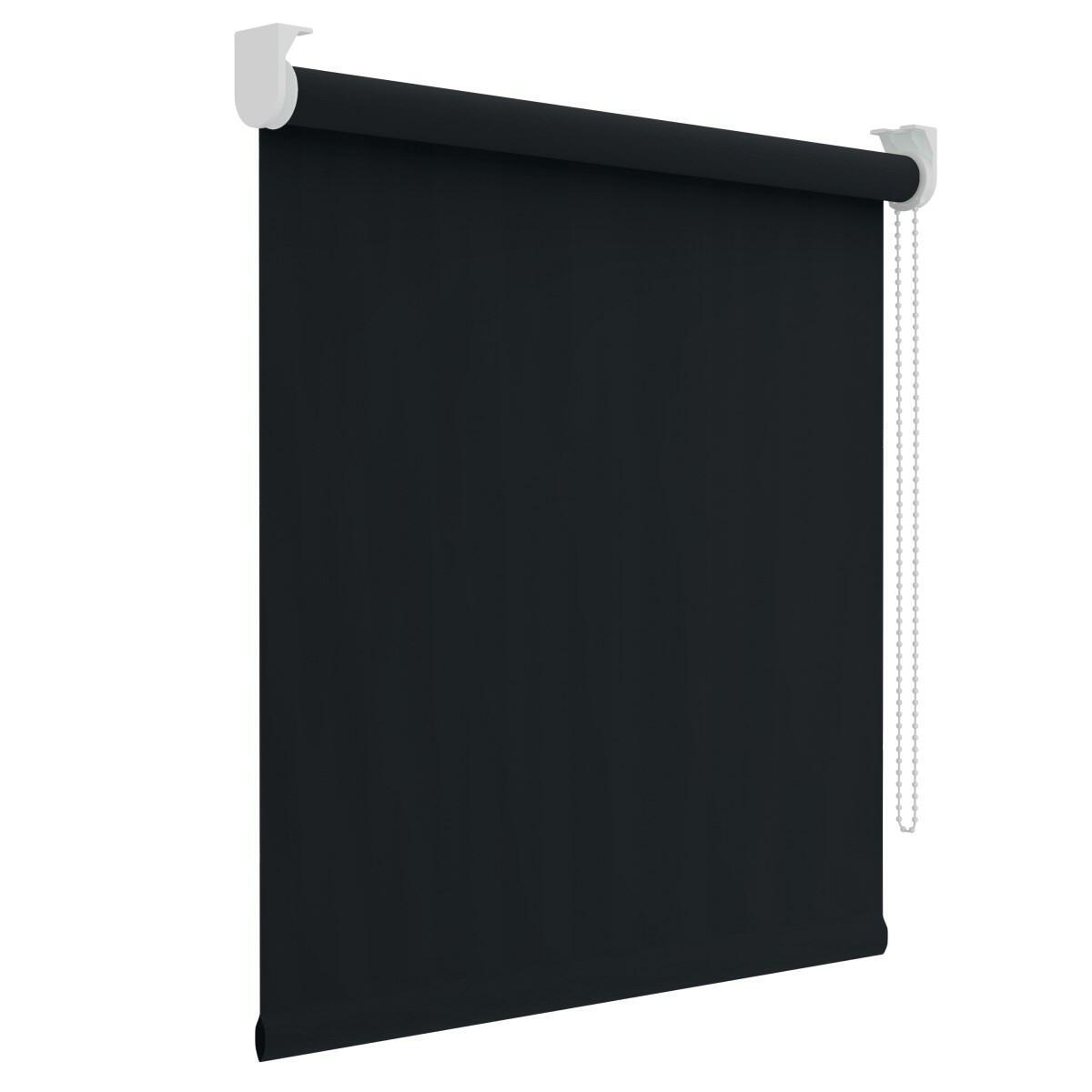 Tenda a rullo oscurante Dublin nero 60 x 190 cm - 1