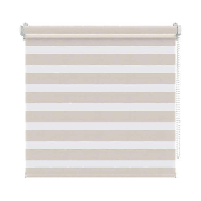 Tenda a rullo Orleans beige 90 x 190 cm - 1