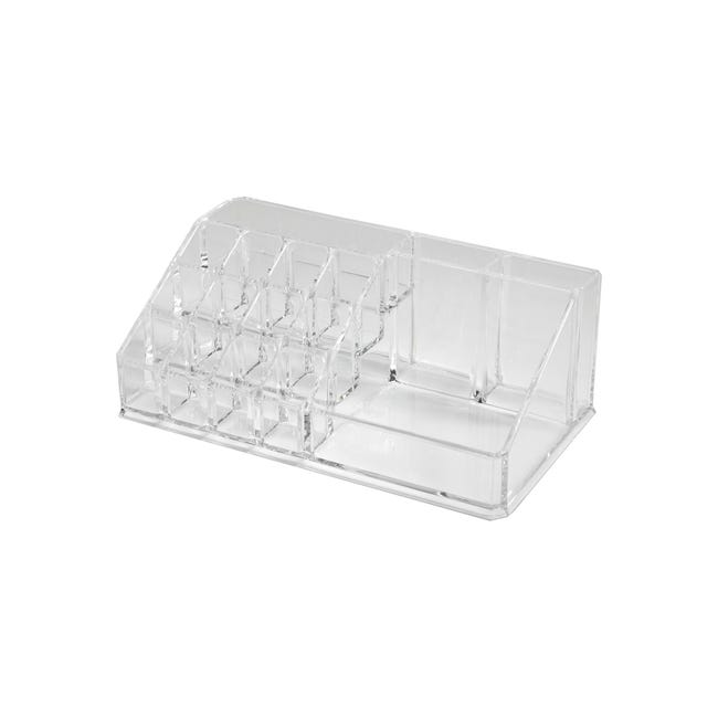 Organizer bagno Cie richL 12.7 x H 8 cm trasparente - 1