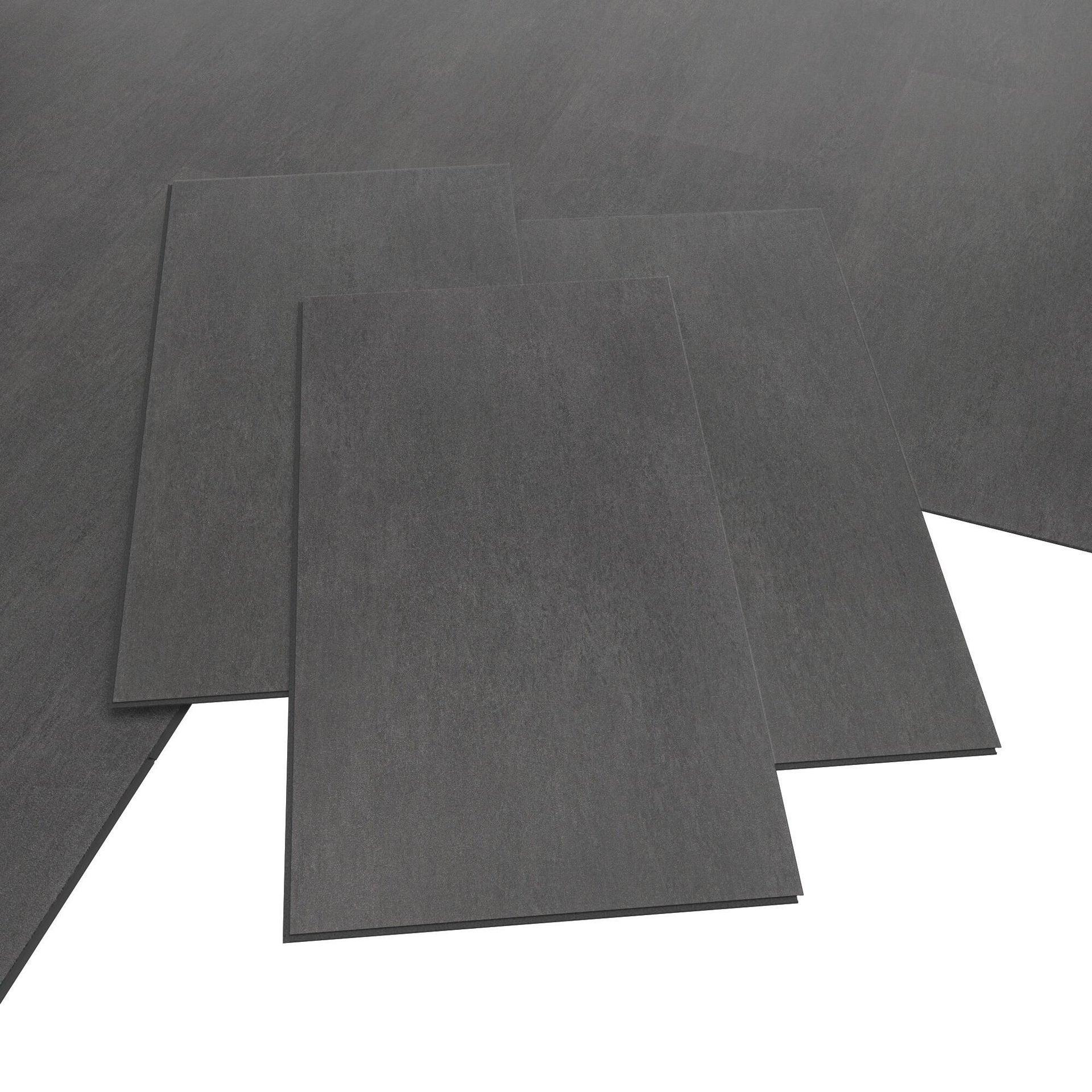 Pavimento PVC flottante clic+ Art For New Sp 4.2 mm nero - 8
