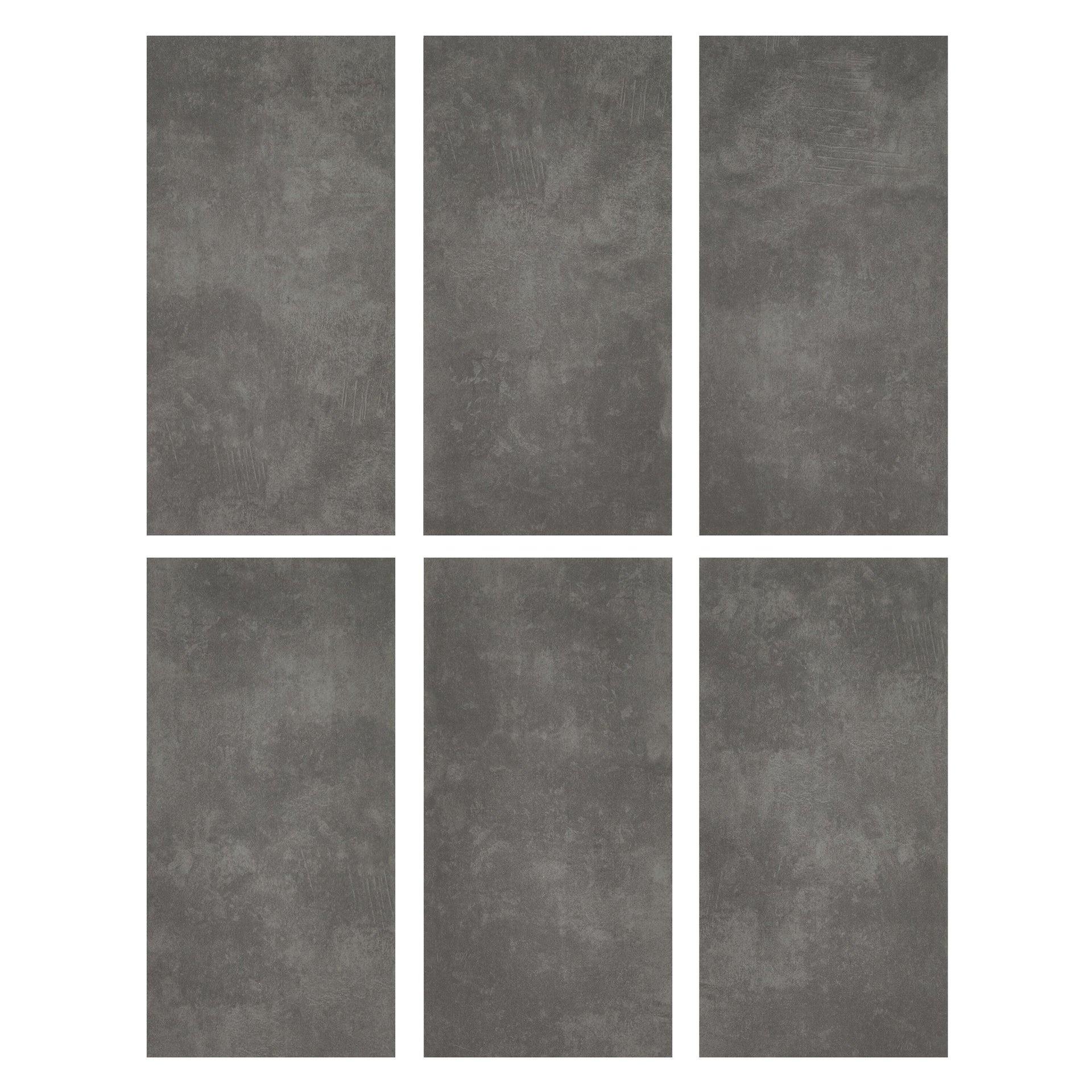 Pavimento PVC incastro Tolu Sp 4 mm grigio / argento - 16