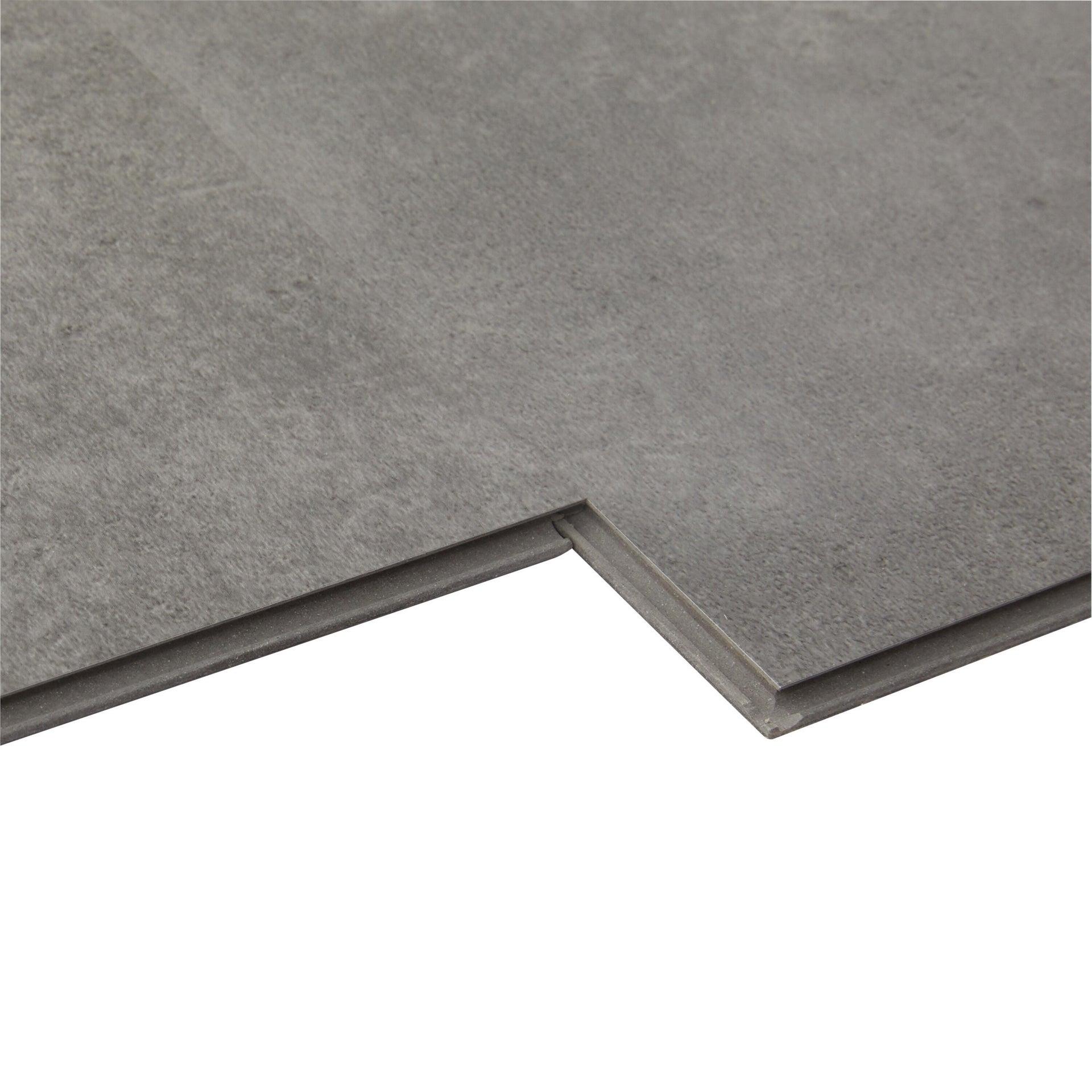 Pavimento PVC incastro Tolu Sp 4 mm grigio / argento - 13
