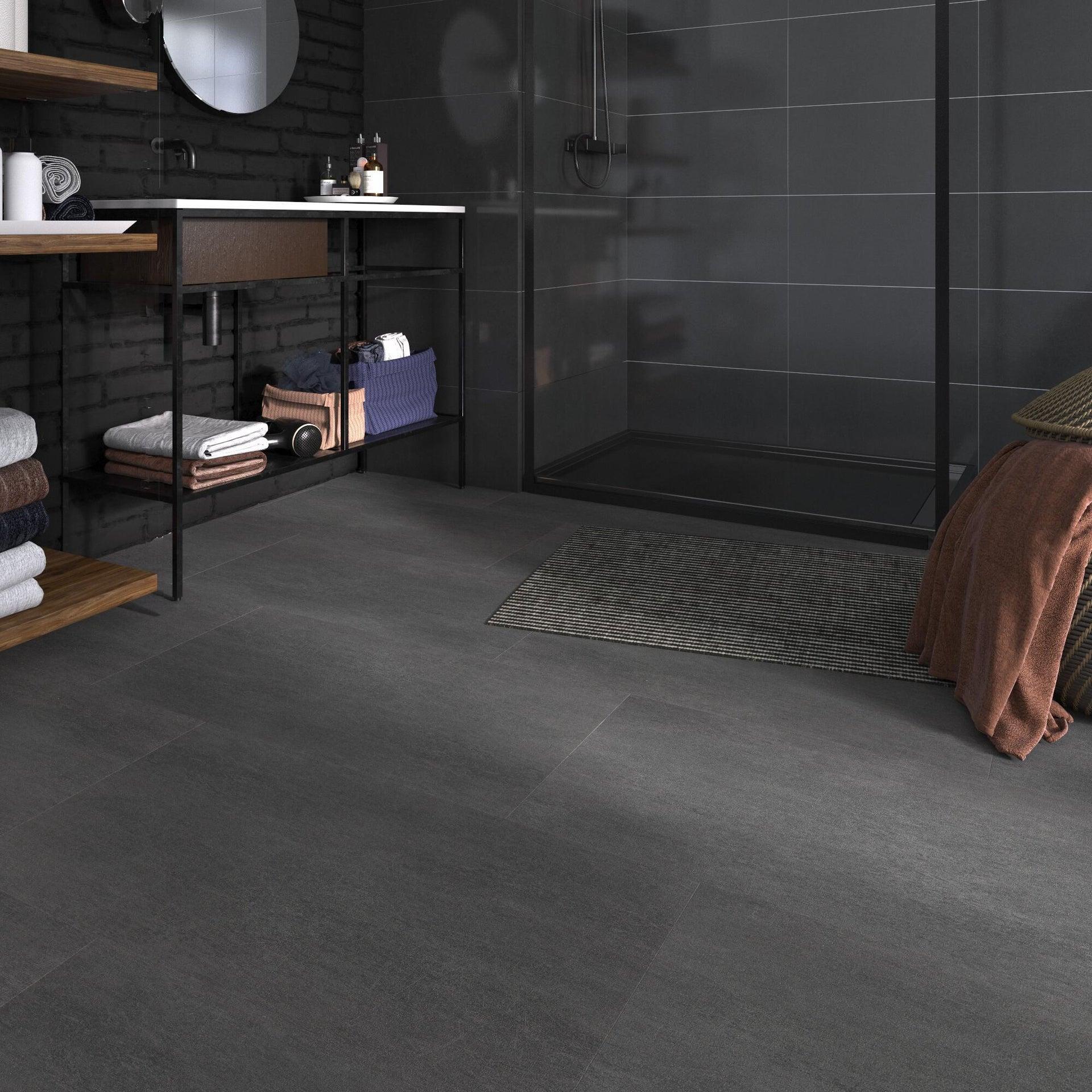 Pavimento PVC flottante clic+ Art For New Sp 4.2 mm nero - 6