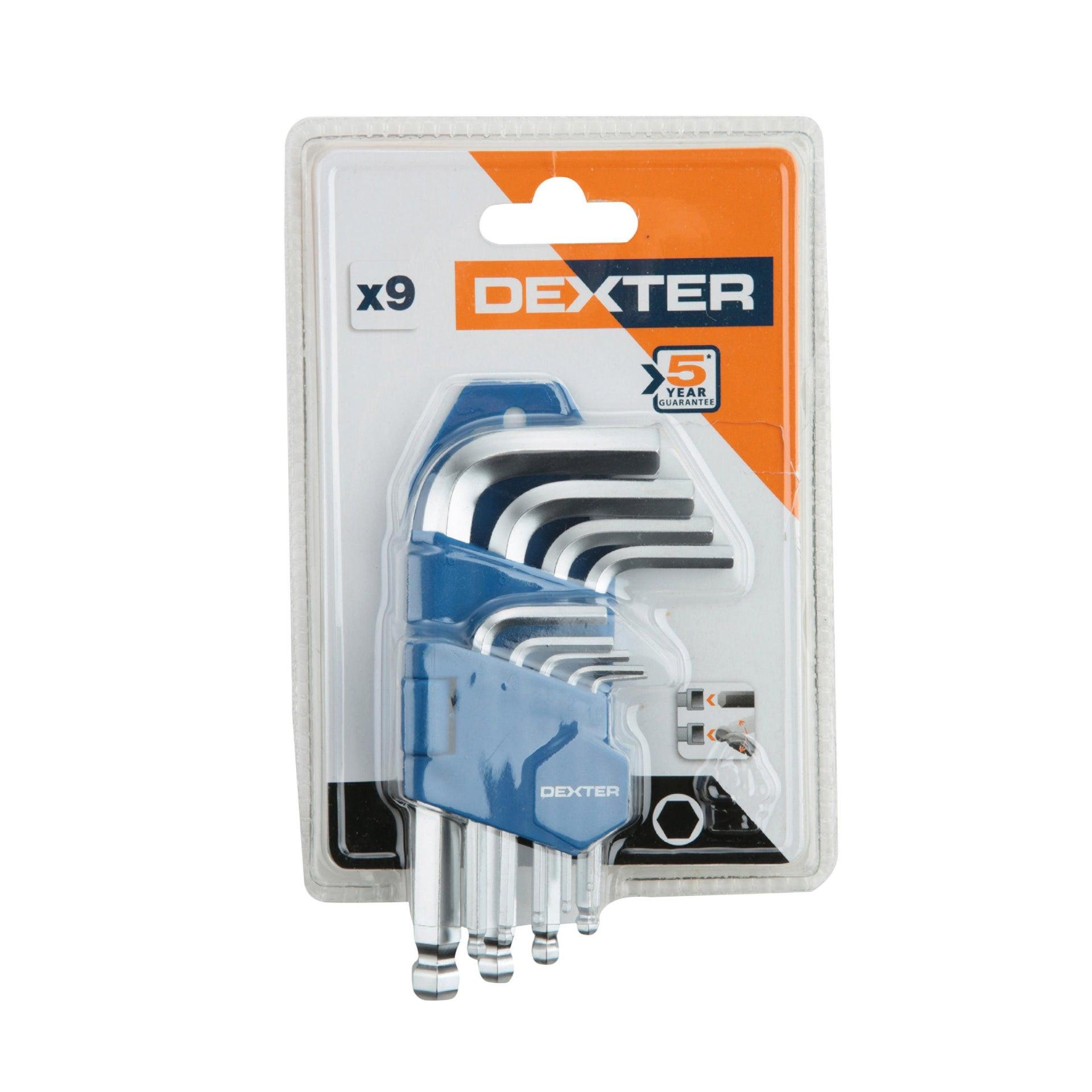 Set di chiave a brugola DEXTER 9 pezzi - 2