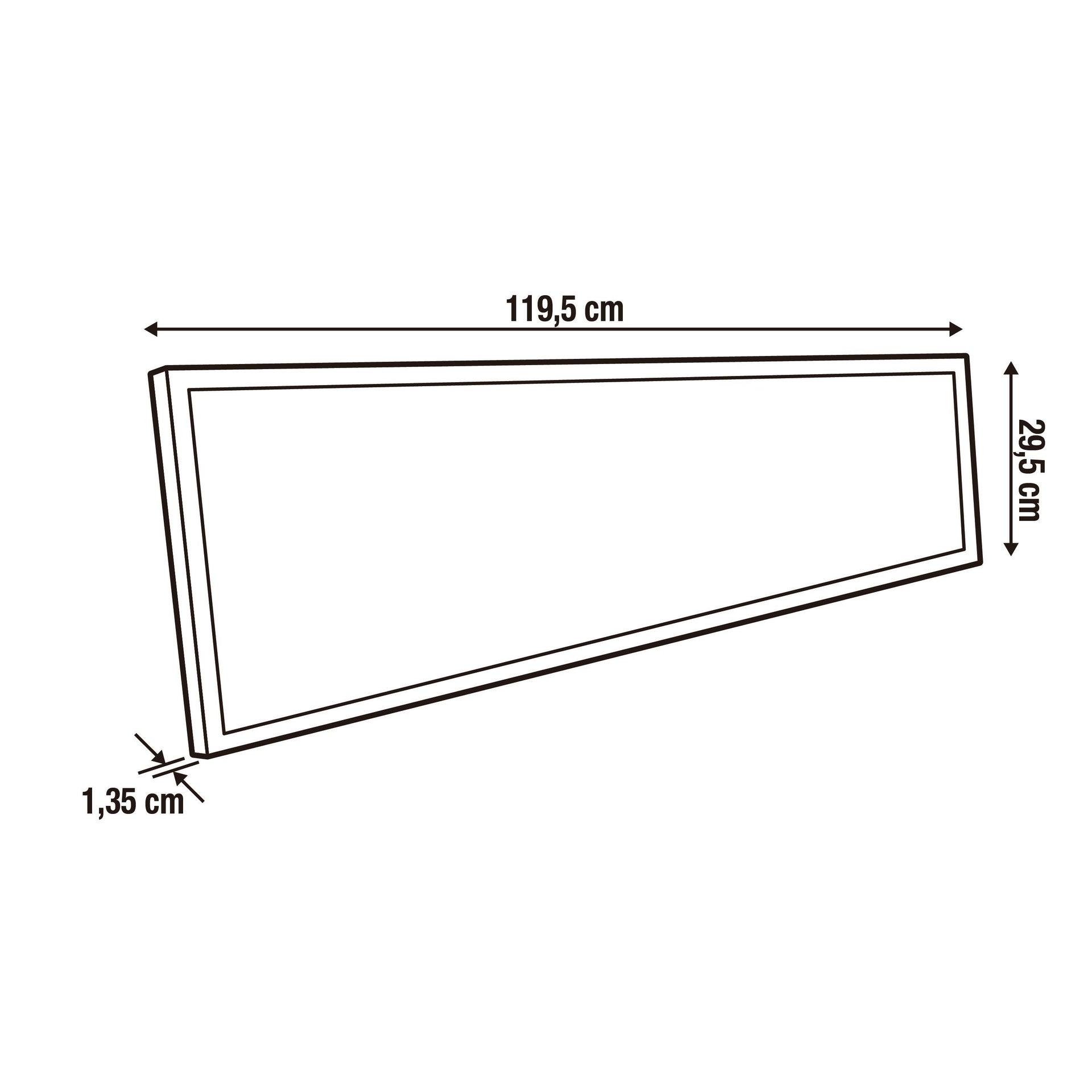 Pannello led Anvik 30x120 cm bianco naturale, 4000LM INSPIRE - 3