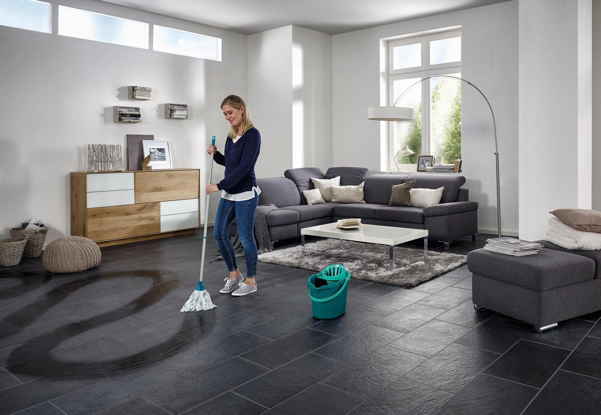 Mocio LEIFHEIT Set lavapavimenti Classic Mop in cotone - 1