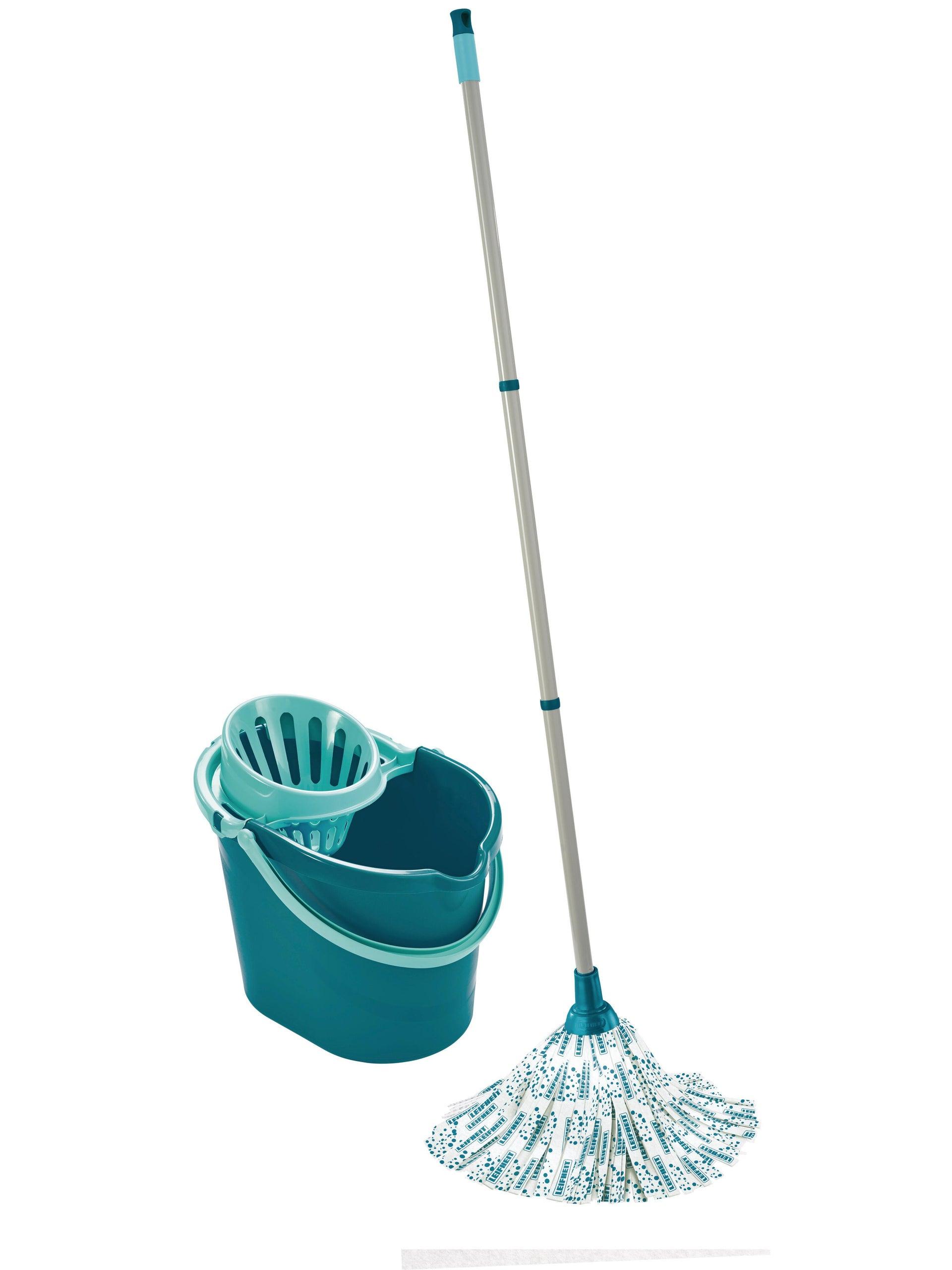 Mocio LEIFHEIT Set lavapavimenti Classic Mop in cotone - 4