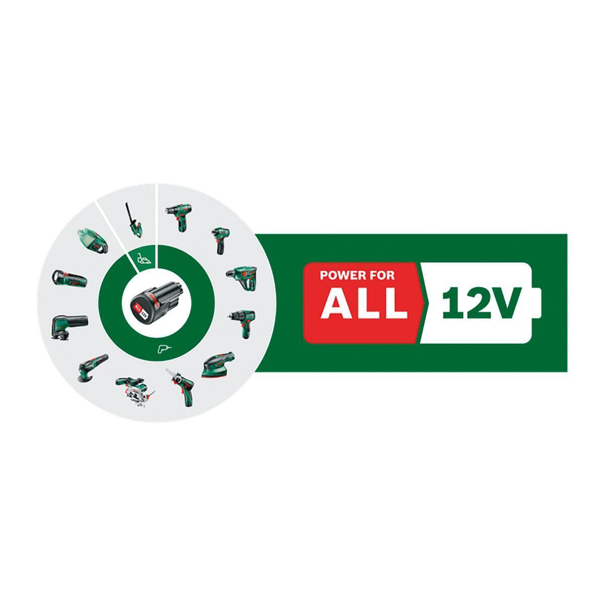 Trapano avvitatore a batteria BOSCH EasyDrill 1200 12 V, 1.5 Ah, 1 batteria - 2