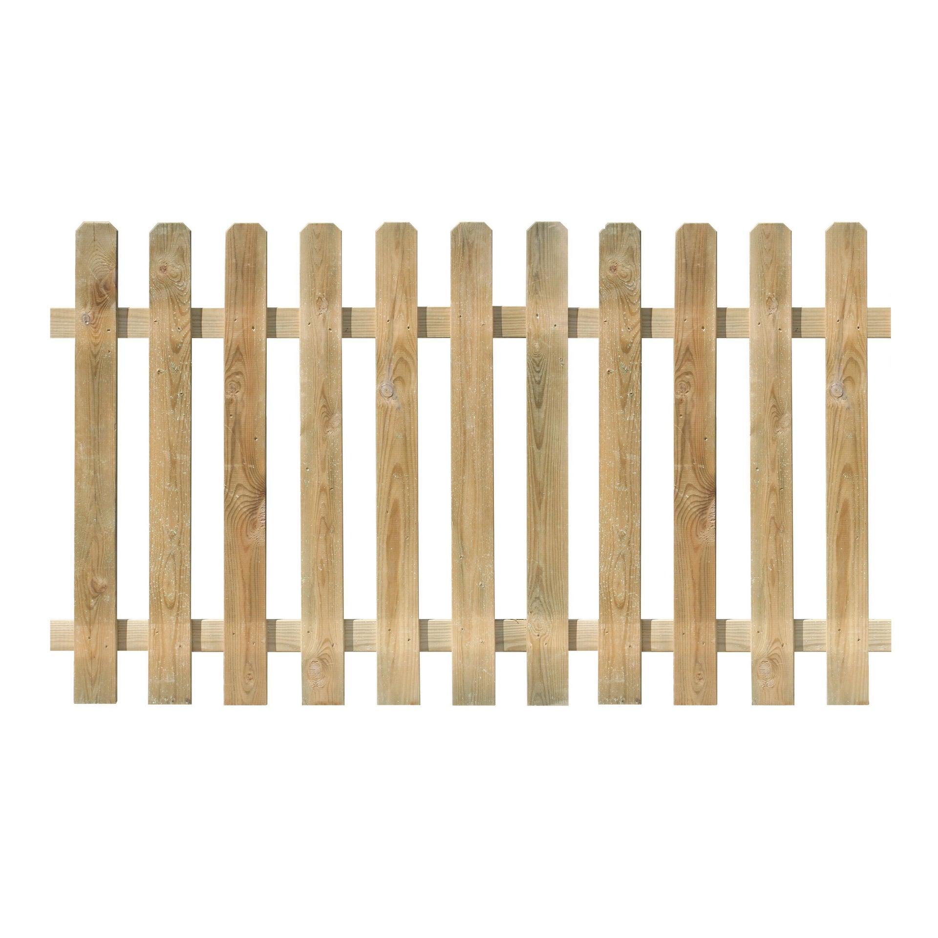 Recinzione FOREST STYLE RECINZIONE MUSTANG 100XX180 SP 15MM in legno L 180 x H 100 x P 1.5 cm