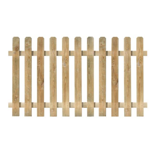 Recinzione FOREST STYLE RECINZIONE MUSTANG 100XX180 SP 15MM in legno L 180 x H 100 x P 1.5 cm - 1