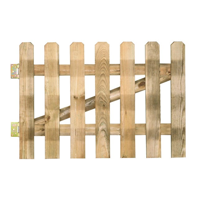 Cancello / portello FOREST STYLE CANCELLETTO MUSTANG 800x1000 mm SP15 MM in legno L 1 x H 0.8 m - 1
