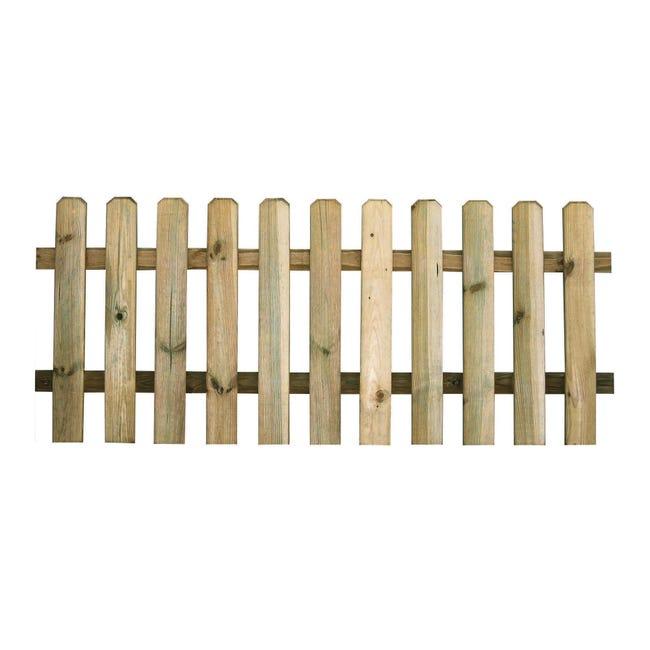 Recinzione RECINZIONE MUSTANG 80X180CM SP15MM in legno L 180 x H 80 x P 1.5 cm - 1