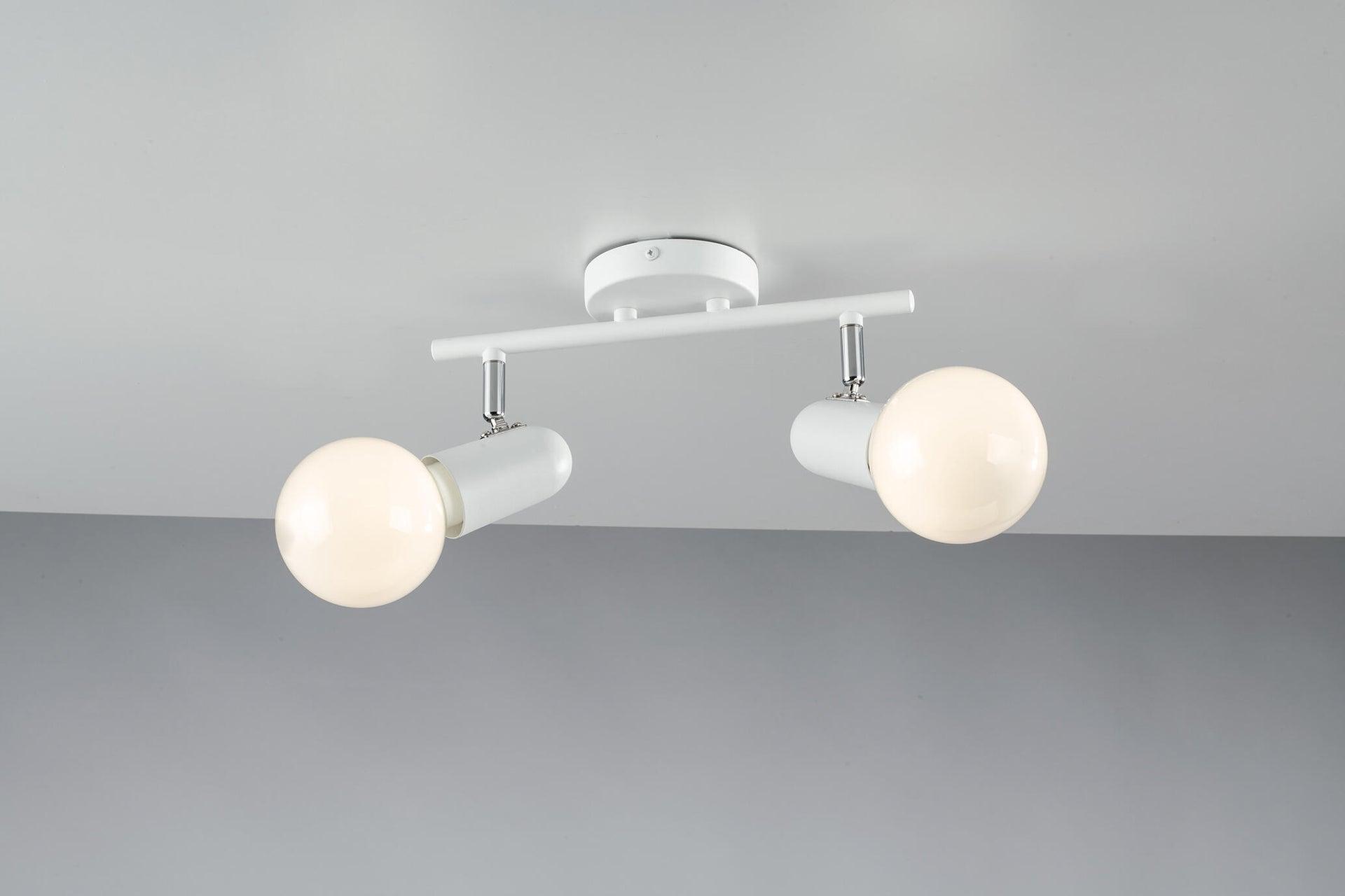Faretto Punto bianco, in metallo, E27 2xIP20