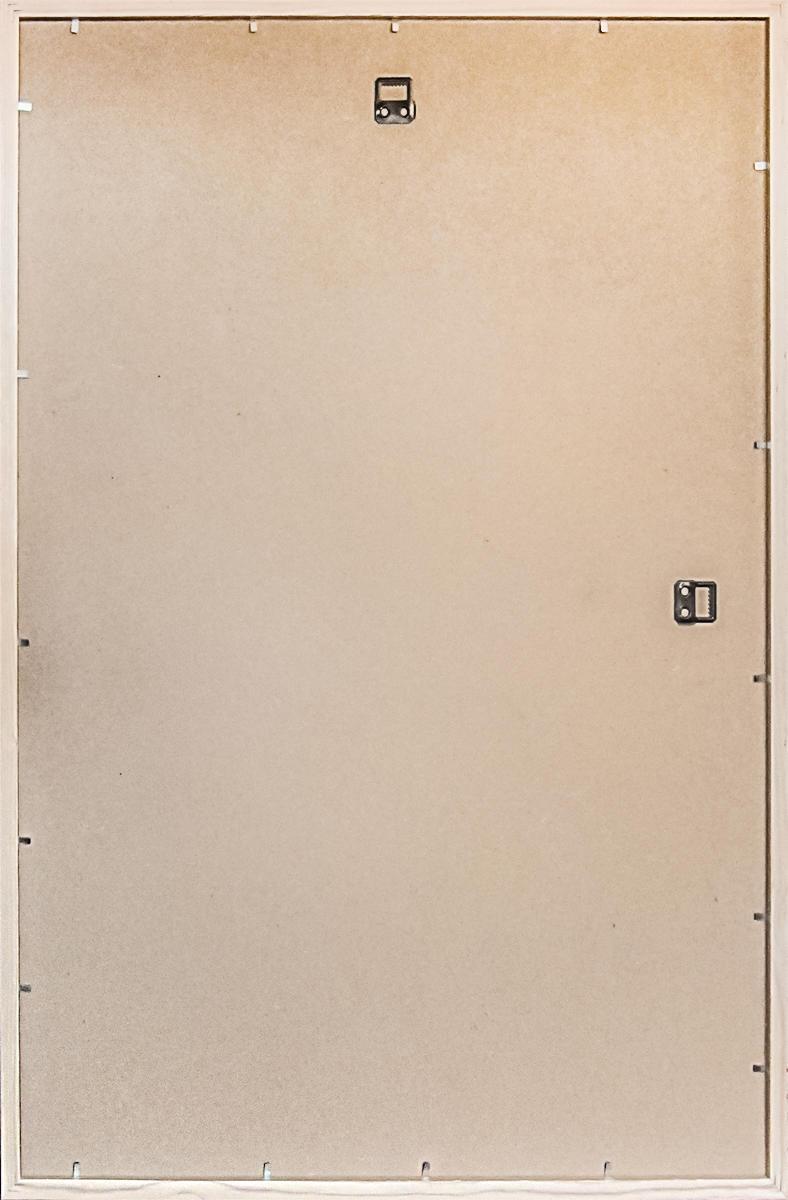 Specchio a parete rettangolare Osakan argento 60x90 cm - 2