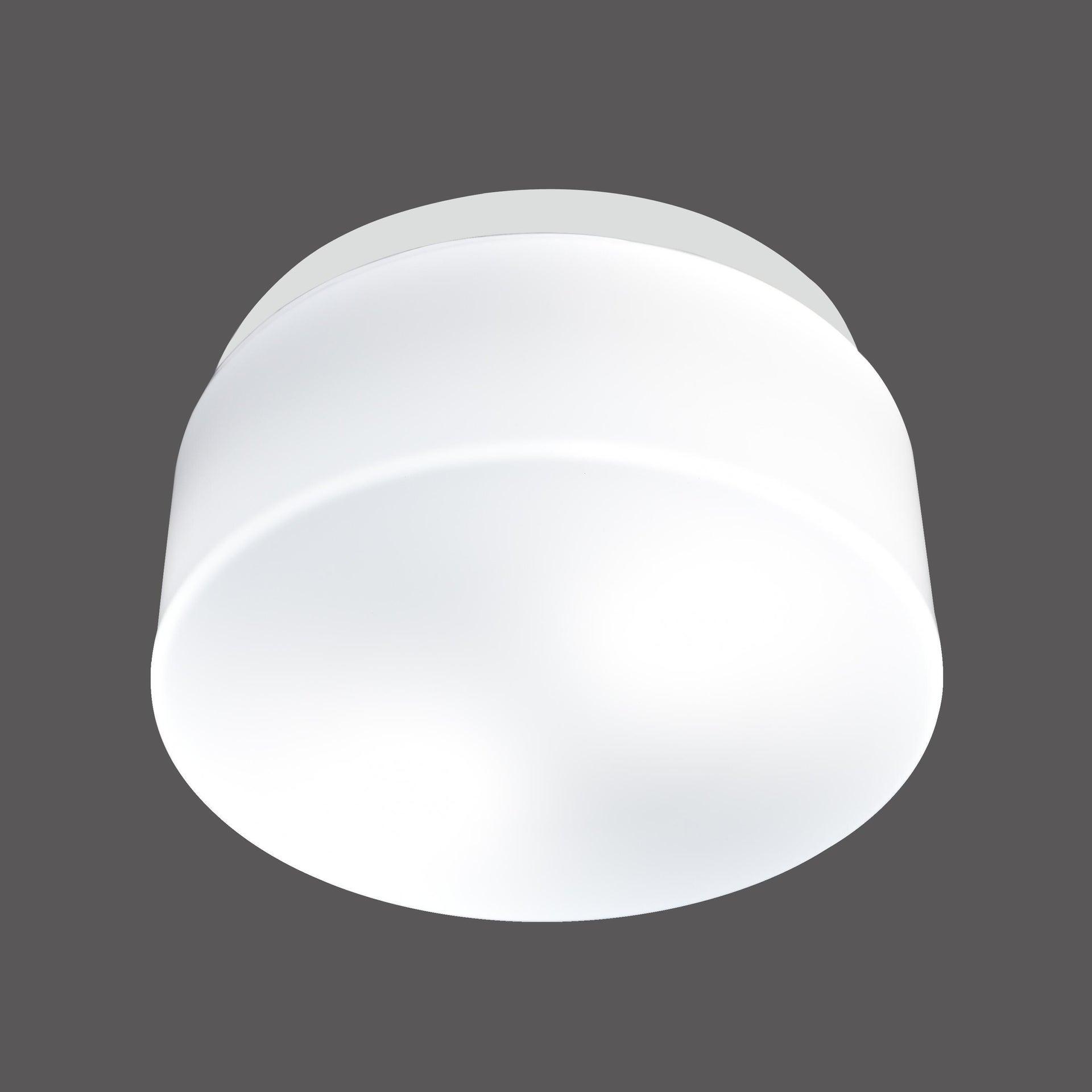 Plafoniera Plafoniera bianco D. 25 cm 25x25 cm, - 3