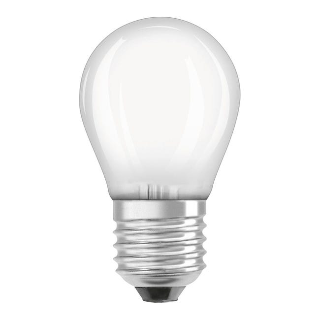 Lampadina LED filamento, E27, Sferico, Opaco, Luce calda, 2.8W=250LM (equiv 25 W), 320° , OSRAM - 1